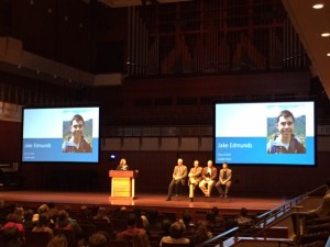 Our final Accepted Student Day panel, featuring Jake Edmunds.