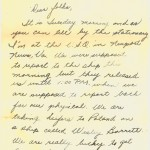 Letter (front)