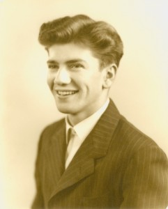 Photo of Ernest L. Boyer as a 1948 graduate of Messiah Bible College -- BCA