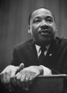 Rev. Dr. Martin Luther King, Jr.  in 1964 -- Wikimedia Commons