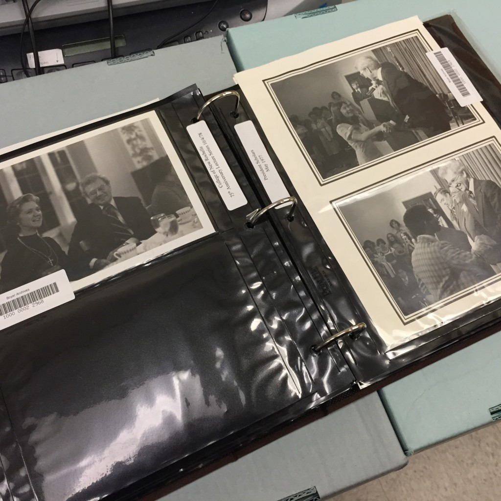 One of the many Boyer photo albums currently being digitized and added to our online collection.