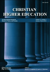 Christian Higher Education journal