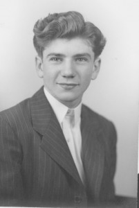 Ernest L. Boyer as a 1946 Messiah Academy (high school) graduate.