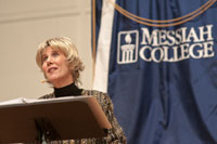 Joni Eareckson Tada lecture at Messiah College