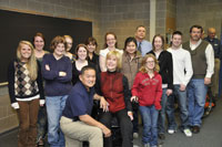 Joni Eareckson Tada with Collaboratory students