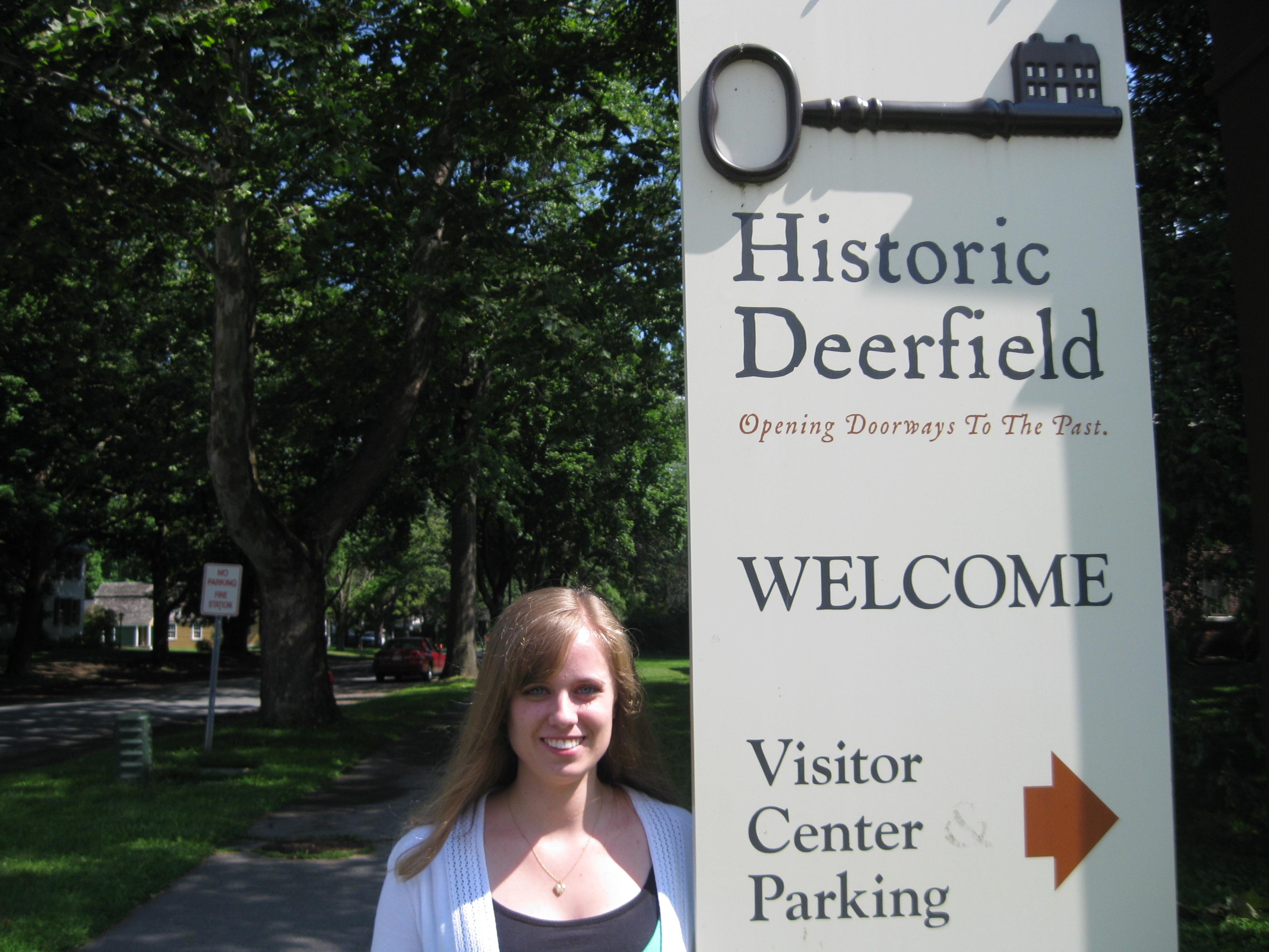 Katie Garland in Deefield, Mass.