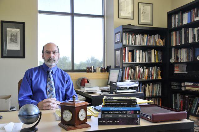 Messiah College professor Joseph Huffman