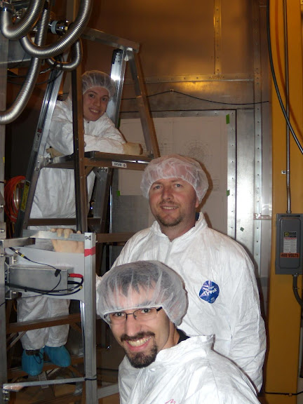 Messiah professor and two students study dark matter in underground lab