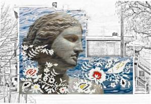 Professor of Art Daniel Finch chosen as artist for public art mural