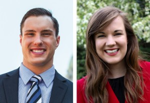 Tim Sensenig '15 and Christina McIntyre '16 receive Fulbright awards