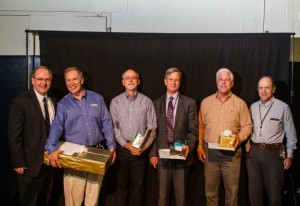 Employees honored at the annual recognition reception